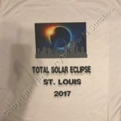 Solar Eclipse St Louis Skyline