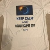 Solar Eclipse Keep Calm