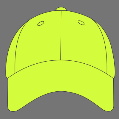 Solid Enhanced Visibility Cap Sew N Stitches Embroidery Llc