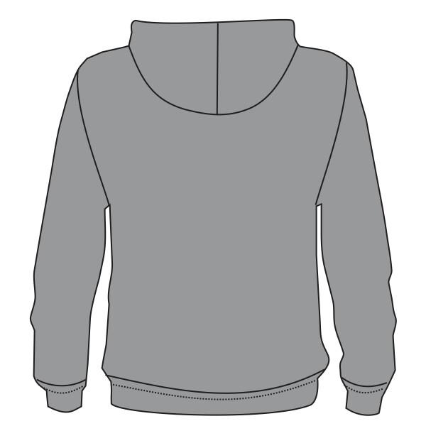 5497 California Fleece Zip Hoody Sew N Stitches Embroidery Llc