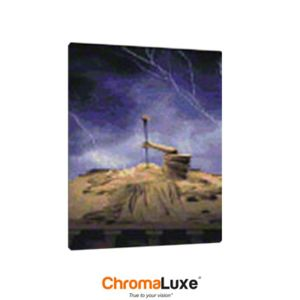 ChromaLuxe Gloss White Sublimation Aluminum Photo Panel, 8