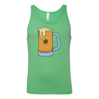 BEER WITH FROTH BELLA + CANVAS - Unisex Jersey Tank - 3480  Thumbnail