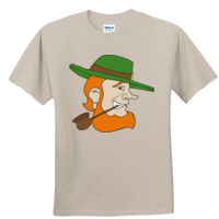 LEPRECHAUN WITH PIPE - GILDAN DRYBLEND Thumbnail