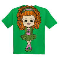 IRISH DANCER GIRL - YOUTH GILDAN DRYBLEND 50/50 COTTON/POLY T-SHIRT Thumbnail