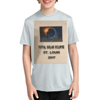 Solar Eclipse St. Louis Skyline Youth T-shirt  Thumbnail