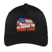 TRUMP TRAIN 2020 - Sport-Tek® Flexfit® Performance Solid Cap Thumbnail