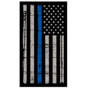 Flag with Blue Stripe -- A percentage of proceeds will go to to Backstoppers.org Thumbnail