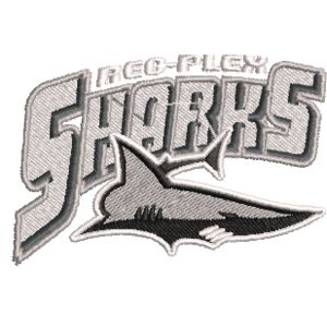 Sharks Embroidery Logo Thumbnail