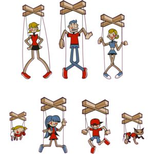 Stick Family Puppets Thumbnail