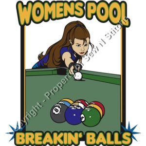 Women's Breaking Balls Pool Thumbnail
