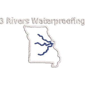 three rivers waterproofing white and blue Thumbnail