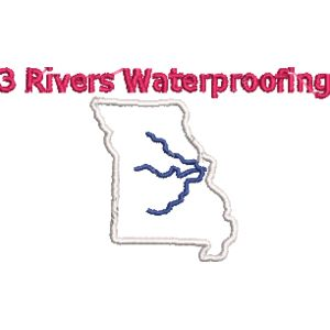 Three River Waterproofing red white blue Thumbnail
